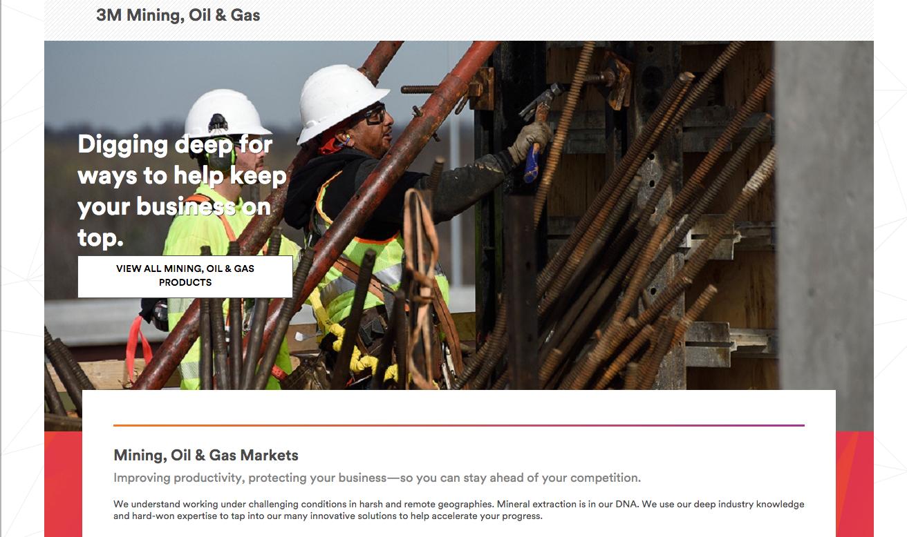 3M Mining  Oil   Gas   3M United States